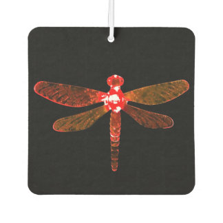 Red Dragonfly Car Air Freshener