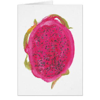 Red Dragonfruit Card
