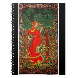 Red Dress 1898 Notebook