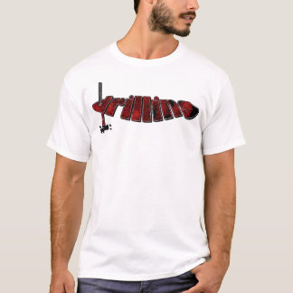 Red Drilling Process T-Shirt
