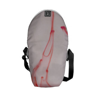 Red Drop Messenger Bags