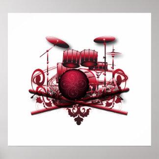 red-drum-design poster