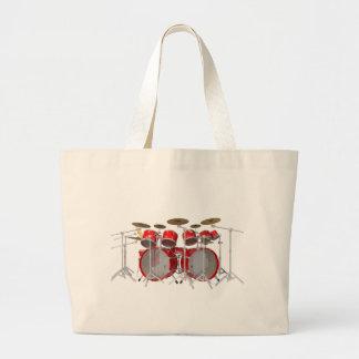 Red Drum Kit: 10 Piece: Jumbo Tote Bag