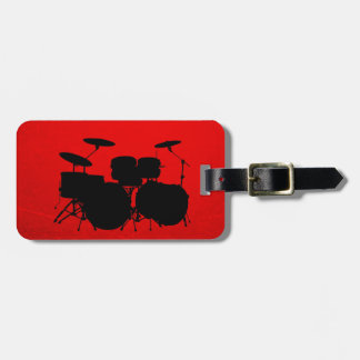 Red Drum Vector Luggage Tag