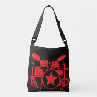 Red Drums Crossbody Bag
