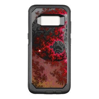 Red Dwarf Fractal Galaxy Vivid Galactic Pattern OtterBox Commuter Samsung Galaxy S8 Case