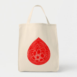 Red Easter eggs Holidays in April. Gift. Tote Bag