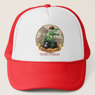 Red EcoMotion Tours Hat