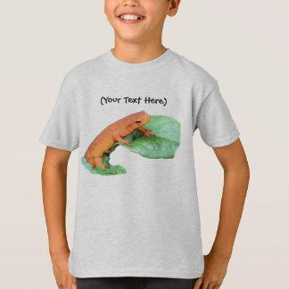 Red Eft Orange Salamander Nature T-Shirt