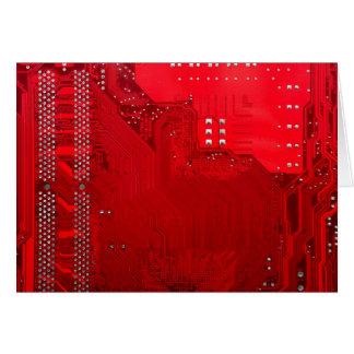 red electronic circuit board.JPG Card
