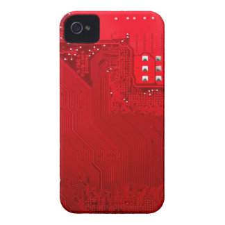 red electronic circuit board.JPG Case-Mate iPhone 4 Cases