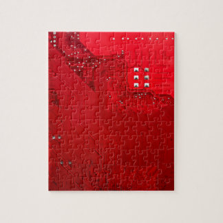 red electronic circuit board.JPG Jigsaw Puzzle
