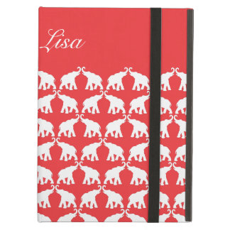 Red elephant iPad air case