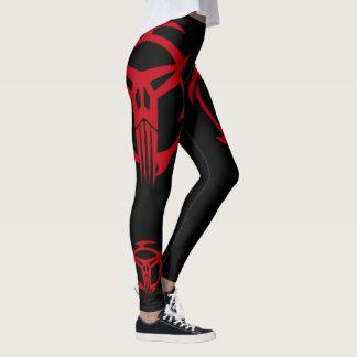 Red Elite SPECOPS On Black Leggings