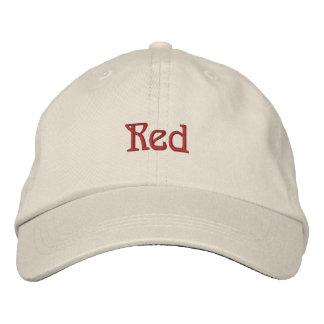 Red Baseball Cap