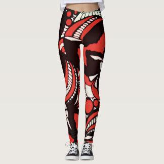 Red Envy Leggings