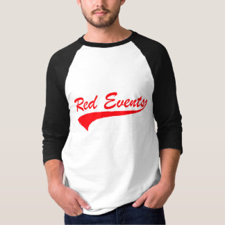 "RED EVENTS ""09"" Baseball Jersey 3/4 Sleeve T-Shirt"