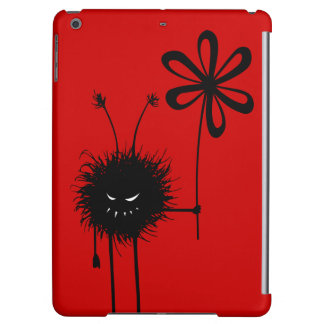 Red Evil Flower Bug Lightweight iPad Air Covers
