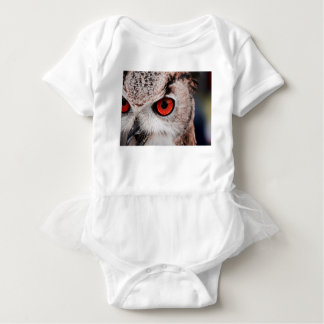 Red-Eyed Owl Baby Bodysuit