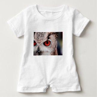 Red-Eyed Owl Baby Romper