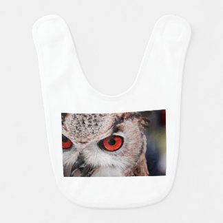 Red-Eyed Owl Bib