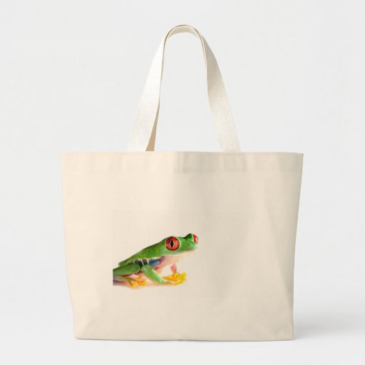 red eyed tree frog bags