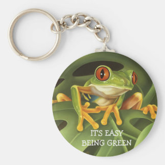 Red Eyed Tree Frog Key Chain
