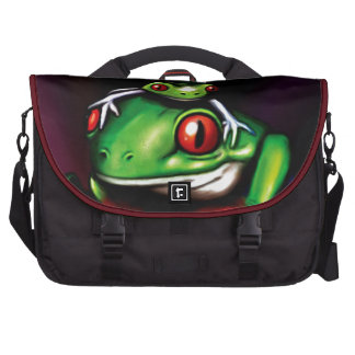 Red Eyed Tree Frog Computer Bag