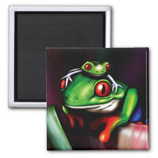 Red Eyed Tree Frog Magnet