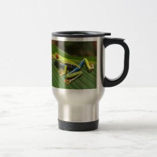 Red Eyed Tree Frog Travel Mug