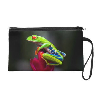Red-eyed Tree Frog Wristlet Purses