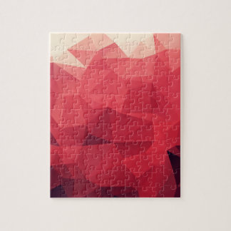 Red Facets of Wine Colors Puzzles