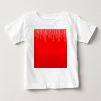 Red Fade Background Baby T-Shirt