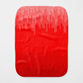 Red Fade Background Burp Cloth