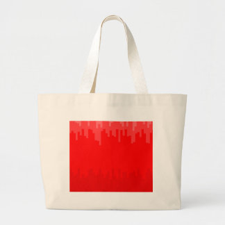 Red Fade Background Large Tote Bag