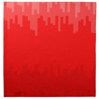 Red Fade Background Napkin