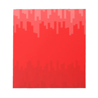 Red Fade Background Notepad