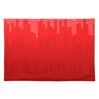 Red Fade Background Placemat
