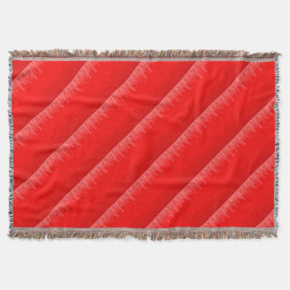 Red Fade Background Throw Blanket