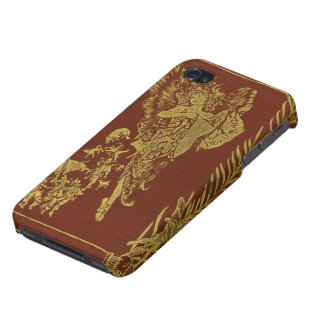 Red Fairy Book Vintage Fairy Tale Fantasy Cases For iPhone 4