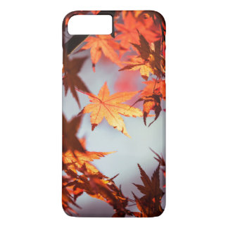 Red Fall Autumn Leaves Maple Tree iPhone 8 Plus/7 Plus Case