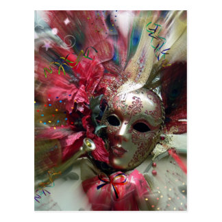 Red Fantasy Angel Postcard