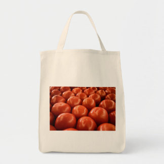 Red Farmer's Market Tomatoes Tote Bag