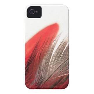 Red Feather iPhone 4 Cover