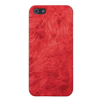 Red feather iPhone 5/5S cover