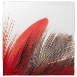 Red Feather Napkin