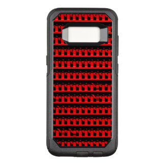 Red Fence OtterBox Commuter Samsung Galaxy S8 Case