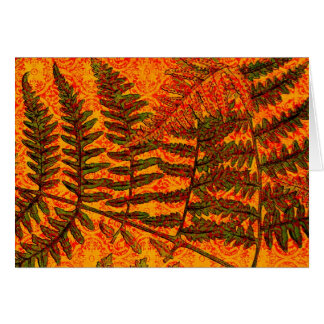 Red Fern card