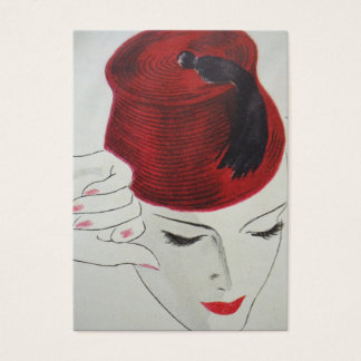 Red Fez Business Card