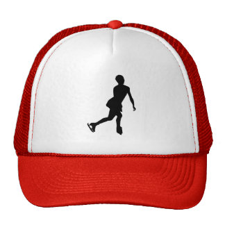 Red Figure Skating Trucker Hat